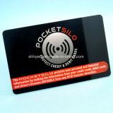 Protector de cartão de crédito Anti Skim Cartão de bloqueio de RFID