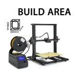 De mini 3D Printer met Verwarmd bouwt Plaat, omvat Micro- BR Kaart en de Gloeidraad van de Steekproef PLA