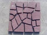 Straatsteen/de Kubussen van het Graniet van de Tegels van het Graniet van Putian van het Bouwmateriaal de Rode Rode