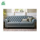 3 sofas américains de type d'entrée de Seater, 24 '' bois de bouleau jumeaux de sofa de dormeur de bras