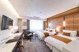 a mobília usada de cinco estrelas do quarto do hotel ajustou-se para a venda