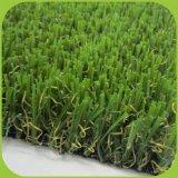Erba sintetica del filato per l'erba domestica del giardino della decorazione 35mm