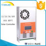MPPT 12V/24V/36V/48V 60AMP Solarcontroller-Aufladeeinheits-Regler MPPT-60A