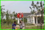 Малый генератор турбины энергии ветра оси 100W 12V/24V вертикальный в малошумном
