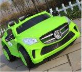 전차가 녹색 2 시트 12V 아이들 장난감에 의하여 농담을 한다