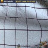 Ropa de cama de 100% poliéster tejido de hoja de comprobación de hilado teñido de tejido de sábana