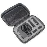 Alta calidad 7 caso a prueba de choques portable Z6 de EVA del caso del almacenaje de la cámara del héroe 3/2/3+ de Gopro de la pulgada pequeño del bolso impermeable de la cámara