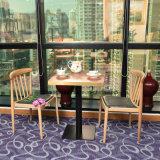 Деревянные мягкой обеденный стол стул для оптовых