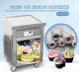 ETL 55*55cmの単一の正方形の氷鍋の揚げられていたアイスクリーム機械