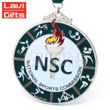 熱い販売の安いカスタム金属のスポーツによってアセンブルされる記念品トロフィおよびメダル