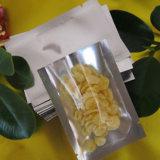 Vorderer schwarzer Schlußreißverschluß gedichtete Plastik-Beutel für langfristige Lebensmittelkonservierung