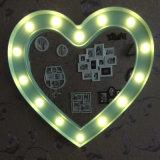 """بلاستيكيّة جدار [دك] مرآة مع [لد] ضوء 20 """""""