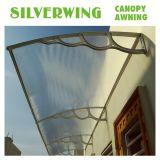 Toldos usados pabellón del balcón del policarbonato de la resistencia del viento para las ventas (YY-H)