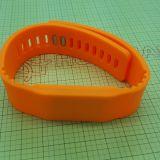 13.56Мгц ISO A1443HF считывателем MIFARE Plus S 2K RFID силиконовый браслет