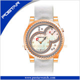 Psd-2323 het dubbele Mechanische Horloge van het Horloge van het Skelet van de Tijd Automatische