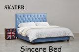 가정 미국식 침실 직물 침대