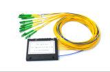 광섬유 LC APC 연결관을%s 가진 1*8 아BS 상자 PLC 쪼개는 도구