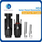 Conetor do picovolt Mc4 T da potência do cabo de filial do painel solar do Ce IP67