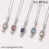 43436 Xuping Wholesale Wedding Jewelry, Women를 위한 Crystals From Swarovski Hidden Camera Necklace