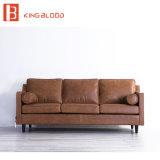 Disegni stabiliti del sofà sezionale di legno pigro del ragazzo con le immagini per il salone