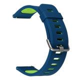 スポーツの柔らかいシリコーンのSamsungギヤS3フロンティアのための適用範囲が広い時計バンド