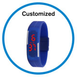 Silicone Rubber Touch Screen DIGITAL Fashion Sport LED Watches