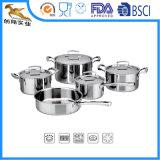 304 Tri-Ply 9 PCS de acero inoxidable utensilios de cocina (ALS-1624)