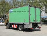 Shacman Van frigorifié par 4X2 5 tonnes de nourriture régénèrent le camion