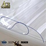 Pellicola libera normale molle del PVC per il coperchio trasparente Rolls del panno della Tabella