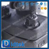 Фланец нержавеющей стали Didtek API6d кончает запорную заслонку