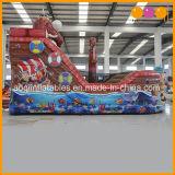 Nave de pirata inflable del barco inflable del pirata del parque de atracciones con la gorila y la diapositiva (AQ01749)