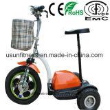 Самый дешевый самокат удобоподвижности 3 колес электрический