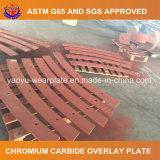 耐久力のある鋼板を溶接するオーバーレイ