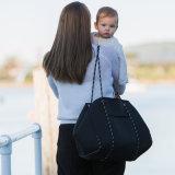 Kundenspezifische Süßigkeit-Farben-Neopren-Windeltote-Beutel der Europa-stilvolle Form-Dame-Handbag Big Practical Leisure