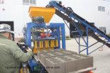 Blocchetto semiautomatico della pianta del mattone di buona prestazione piccolo che fa macchina