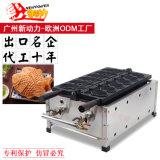 """Оао """"Газпром"""" Тайваня Taiyaki машины для приготовления вафель рыб и форма принятия решений для приготовления вафель Maker"""