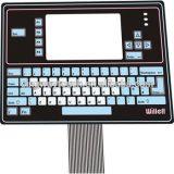 Custom трафаретной печати мембранной клавиатуры панели переключателей для калькуляторов