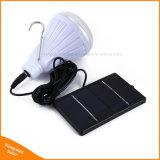 원격 제어를 가진 옥외 태양 정원 빛 Dimmable 20 LED 전구 천막 램프