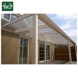 O teto do pátio de alumínio para exterior