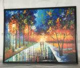 جدار شكّل فن [أيل بينتينغ] غرفة زخرفة يمدّد نوع خيش فن صورة زيتيّة