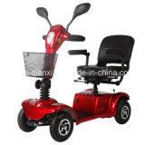 スマートな四輪移動性のスクーター