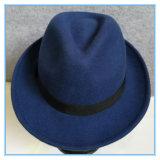 Qualitäts-Form-Mannfedora-Freizeit-Hut mit Farbband