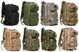 9 morral táctico militar del bolso del ejército 3p del asalto de los colores