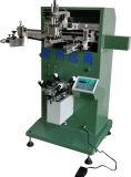 Impressora curvada Semi automática da tela para frascos plásticos