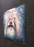 جميلة كلب نوع خيش [أيل بينتينغ] غرفة نوم جدار زخرفة فن صورة زيتيّة