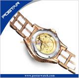 Encantador Miyota cerámica automático Reloj de dama reloj esqueleto