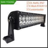 7 la barre d'éclairage LED du CREE 72W de pouce 10-30V pour ATV SUV troque le véhicule pilotant tous terrains