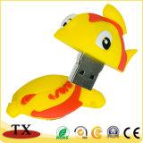 De zachte Stok van de Aandrijving USB van de Flits van de Vissen USB van pvc voor Gift