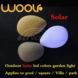 Солнечный камень шарика кубика СИД RGB светлый декоративный для используемого напольного