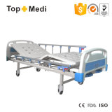 Funktions-manuelles Hauptsorgfalt-Krankenhaus-Stahlbett der Krankenhaus-Geräten-schweres Nutzlast-2 mit Cer ISO-FDA